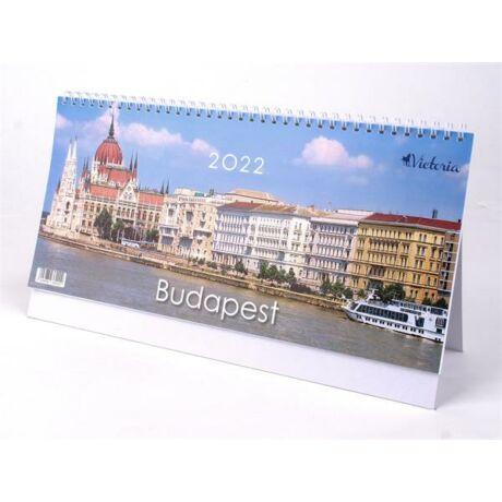 """Naptár, asztali, álló, VICTORIA """"Budapest"""" (2022 évi)"""
