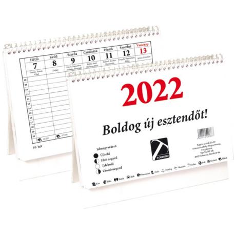 Naptár, asztali 23TA 2022