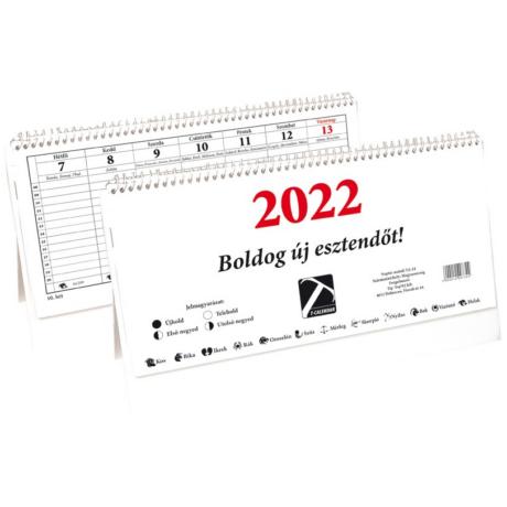 Naptár, asztali 24TA 2022