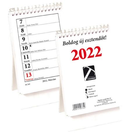 Naptár, asztali 21TA 2022