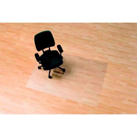 """Székalátét, kemény felületre, E forma, 90x120 cm, RS OFFICE """"Ecoblue"""""""