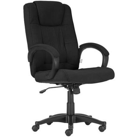 """Főnöki szék, szövetborítás, fekete lábkereszt, """"MODUS T"""", fekete"""