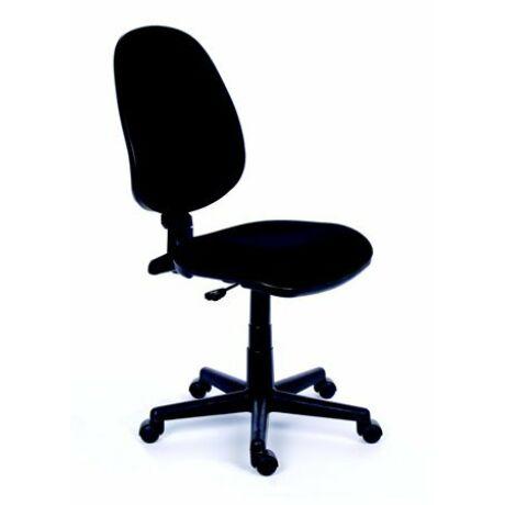 """Irodai szék, fekete szövetborítás, fekete lábkereszt, MAYAH """"Happy"""""""
