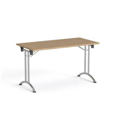 """Összecsukható tárgyalóasztal, behajtható fémlábakkal, 130x65 cm. MAYAH """"Freedom SV-93"""""""