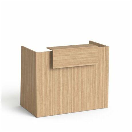 """Recepciós asztal, 130x64,5 cm, MAYAH """"Freedom SV-91"""", kőris"""