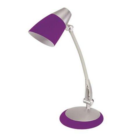 """Asztali lámpa, kompakt fénycső, 15 W, ALBA """"Fluofit"""", lila"""